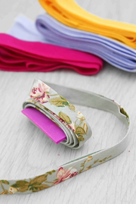 How To Make Bias Tape At Home Without A Bias Tape Maker