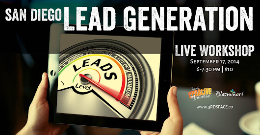 My Upcoming Lead Generation Workshop - Justine Dolorfino