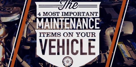 The 4 Most Important Maintenance Items on Your Vehicle | Primer