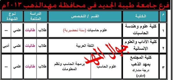 أعلنت جامعة طيبة أمس نتائج قبول الدفعة الثانية من الطلاب والطالبات الذين تم. اسماء المقبولين في جامعة طيبة 1440 فرع مهد الذهب