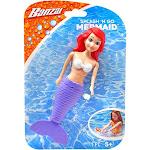 Banzai Splash 'n Go Mermaid Bath Toy [Purple Tail]