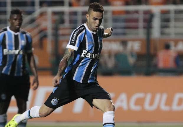 Luan é o artilheiro do Grêmio