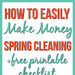 Make Money Spring Cleaning - Frugal Finds During Naptime