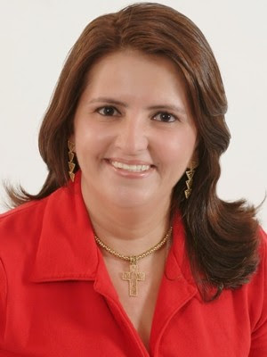 Antônia Luciana da Costa Oliveira, prefeita de Baraúna  (Foto: Arquivo Pessoal)