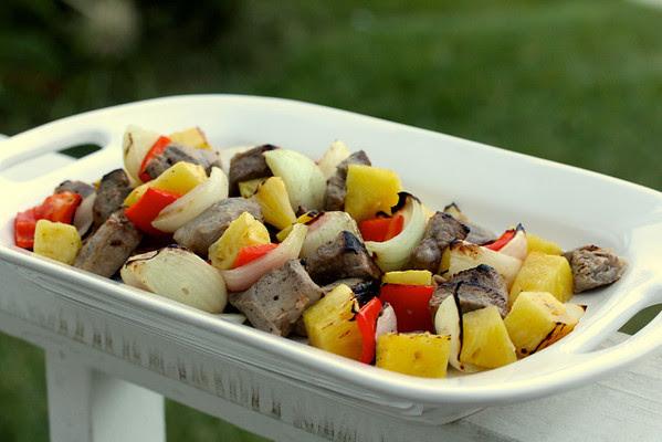 Tropical Pork and Pineapple Kebabs