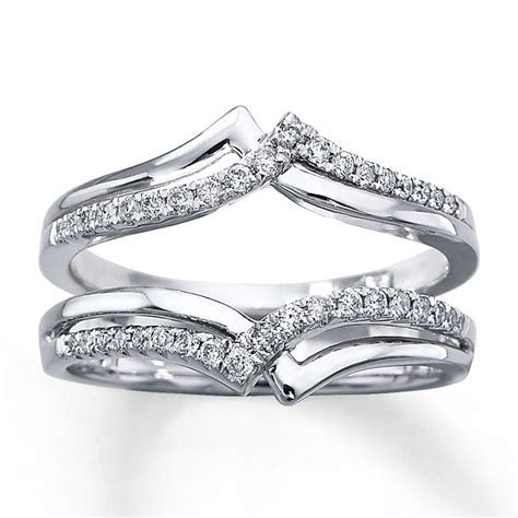 Kay   Diamond Enhancer Ring 1/4 ct tw Round cut 14K White