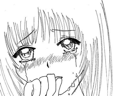 draw anime tears manga girls crying  micha