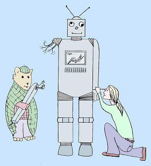 roboter malvorlagen zum ausdrucken deutsch - x13 ein bild zeichnen