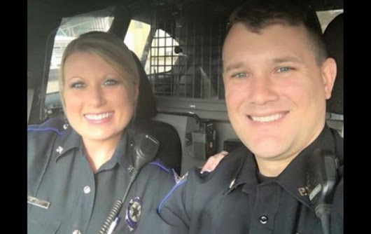 A Powerful Message From a Married Police Officer Couple Is Going Viral