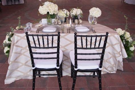 Reunion Resort: A Black Tie Wedding   A Chair Affair, Inc.