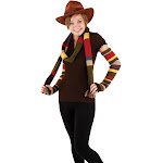 Elope Fourth Dr. Who Arm Warmers Costume