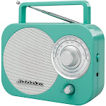 Studebaker SB2000TE Portable AM/FM Radio, Teal