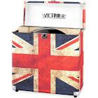 Victrola VSC-20 30-Disc Hard vinyl records Case - United Kingdom Flag