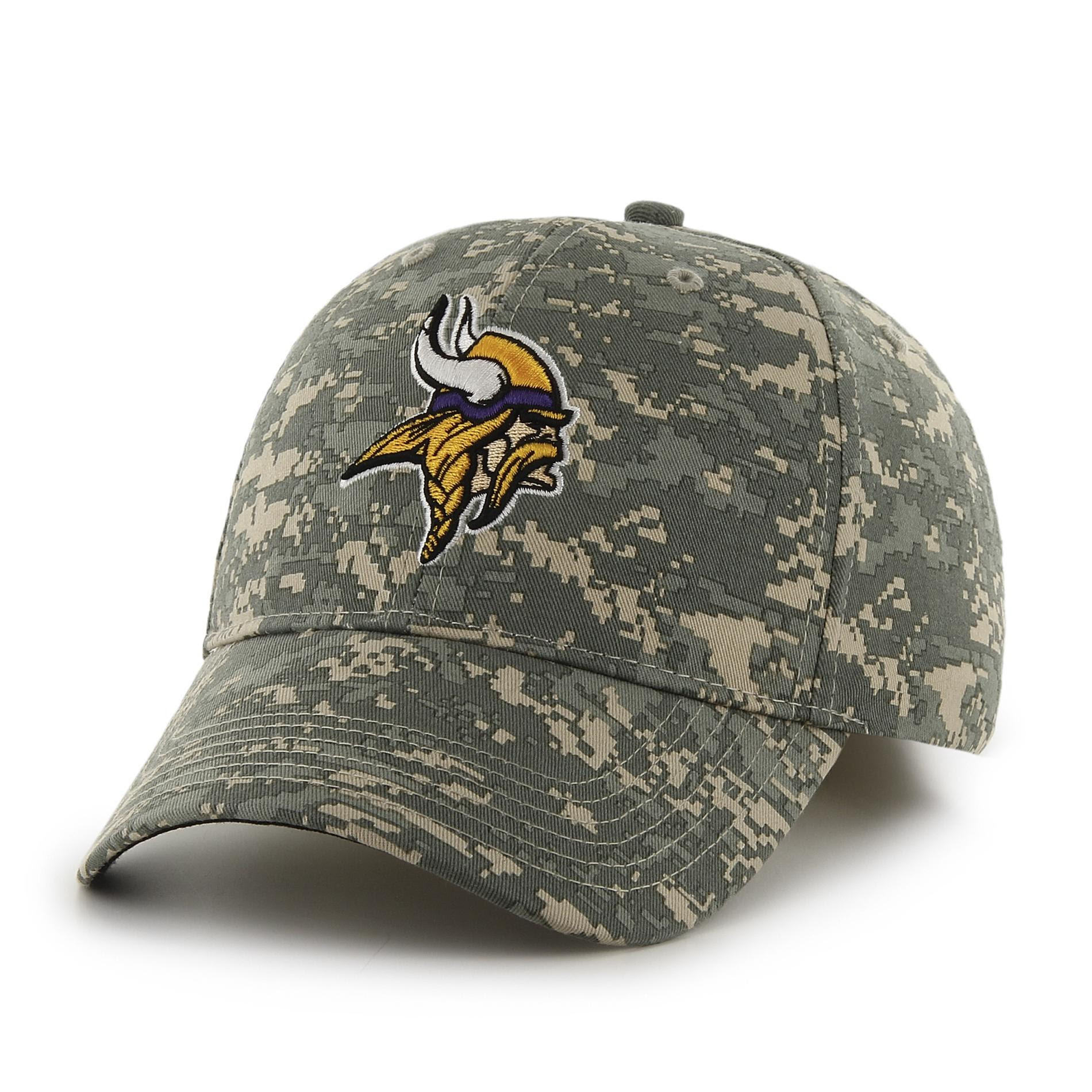 NFL Mens Camo Baseball Hat  Minnesota Vikings
