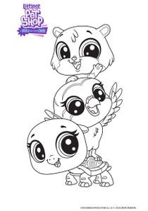 Coloriages Littlest Petshop A World Of Our Own à Imprimer