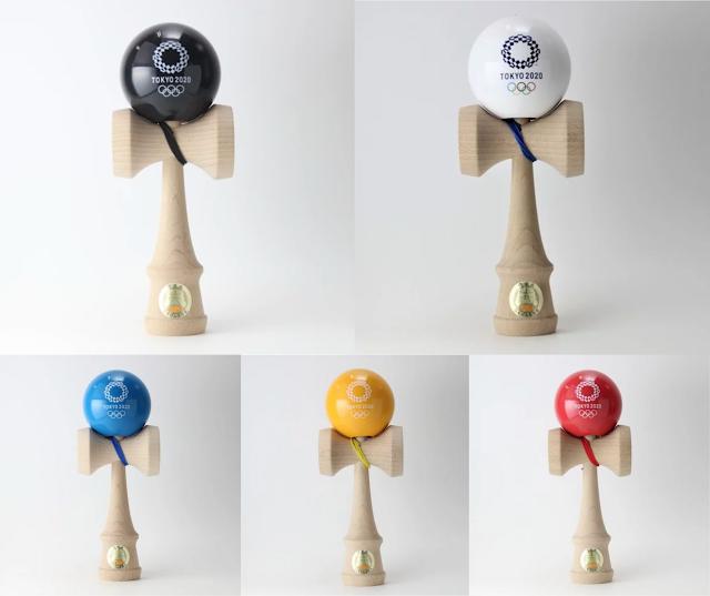 【東京奧運2020官方劍玉 KENDAMA】日本傳統文化的東奧紀念品 仲有 5 色選擇