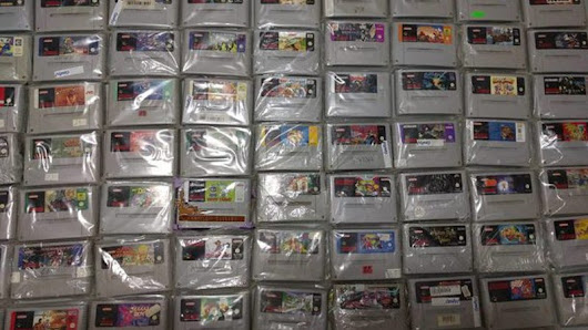 One Month Later, Guy Recovers $10,000 Worth Of SNES Games That Were Lost In The Mail