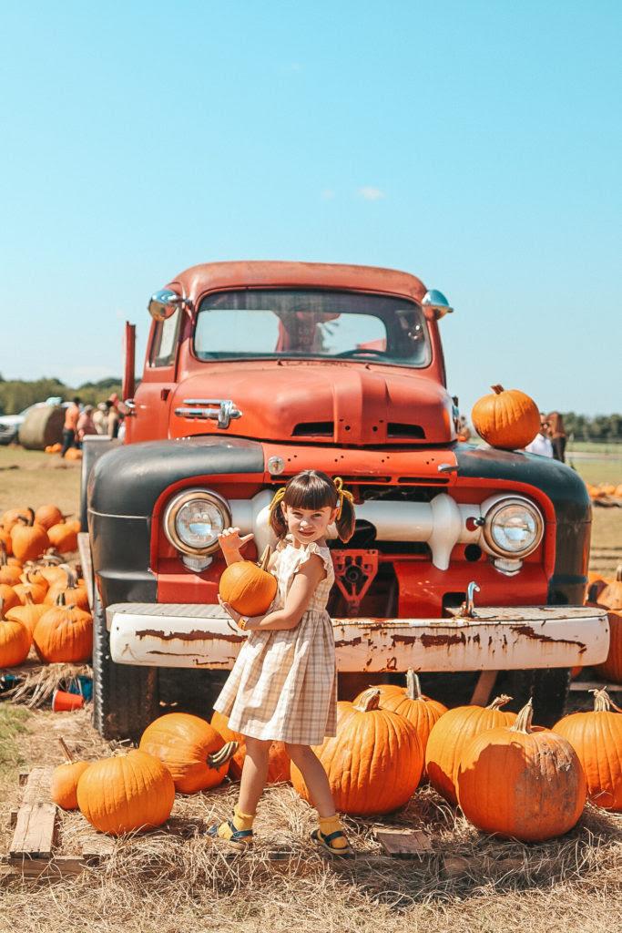 little girls fall dresses for pumpkin patch visits