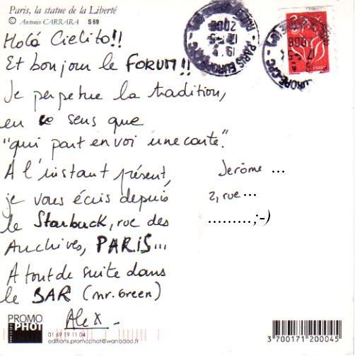 texte pour carte postale Modele De Texte Pour Carte Postale Vacances   Texte Préféré