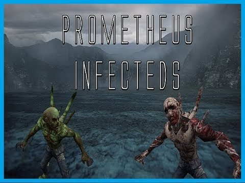 Player Model Alien Zombie