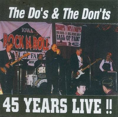 Do's & Don'ts 45 Years Live: 50s and 60s Music Oldies Songs