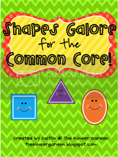 Shapes Galore for the Common Core