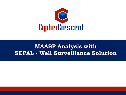 MAASP Analysis with SEPAL - Well Surveillance Solution. - ppt download