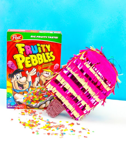 DIY Fruity Pebbles Filled Popsicle Piñata! ⋆ Brite and Bubbly