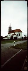 Lengmooser Kirche und Xylomigranten