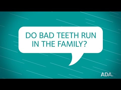 Ask the Dentist by the ADA: 'Do Bad Teeth Run In the Family?'