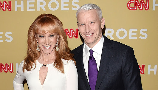 Kathy Griffin's Friend Anderson Cooper Is 'Appalled' by Her Trump Photo Shoot