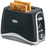 Oster Inspire 2-Slice Toaster, Black