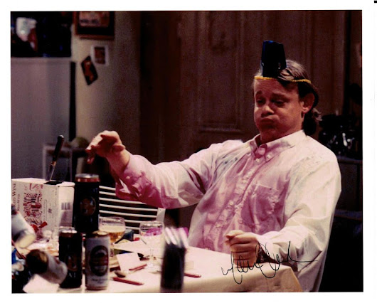 Martin Clunes Autograph Signed Photo - Men Behaving Badly