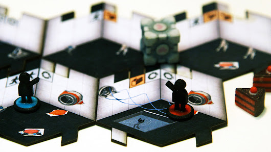 How Valve and Cryptozoic came together for a Portal board game