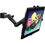 Mount-it MI-7310 Headrest Mount - Glossy Black