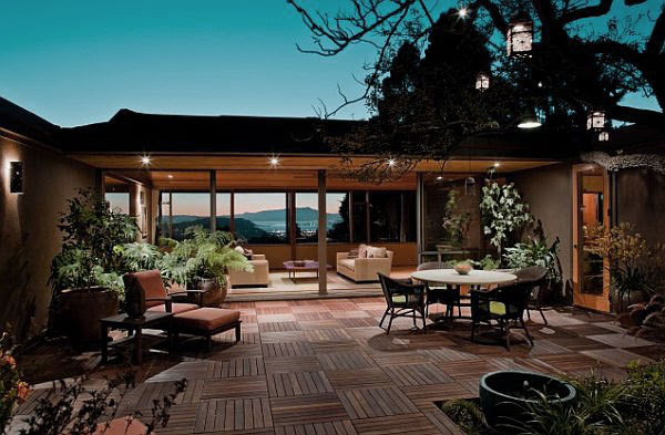 Awesome Living Room Deck with Beautiful Scenery - Interior Design ...