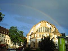 Regenbogen in Darmstadt