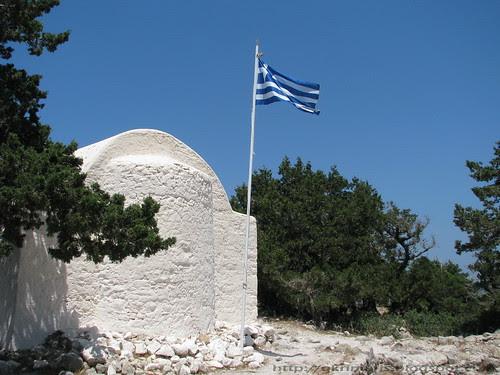 Little church in the Monolithos castle