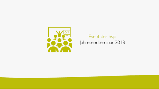 Jahresendseminar 2018 in Kassel - hsp Handels-Software-Partner GmbH