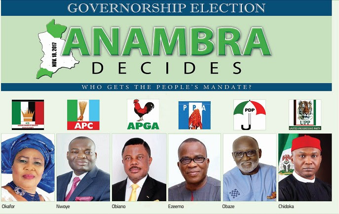 Anambra Governorship Election 2017 Results - Live Updates (Unofficial)