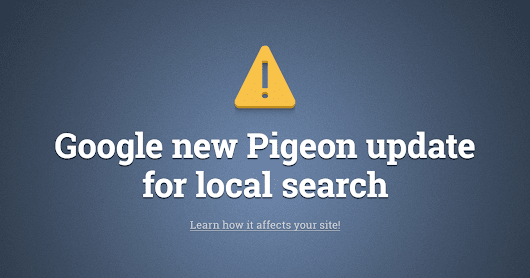 Google's new Pigeon update explained - check the guide