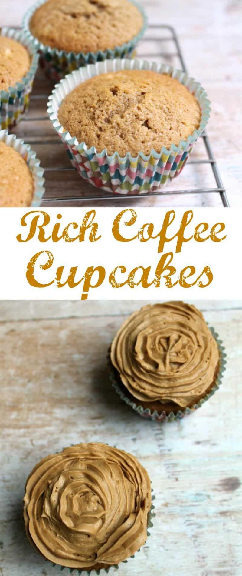 Rich Coffee Cupcakes - a Coriander Queen recipe ...