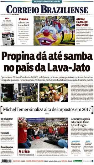 Correio Braziliense, 05 de Julho de 2016
