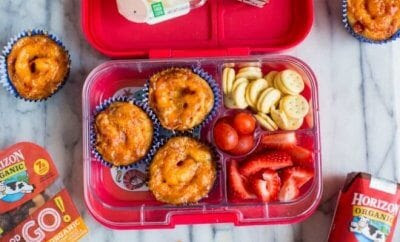 School Lunchbox Ideas: Pizza Muffins | Spaceships and Laser Beams