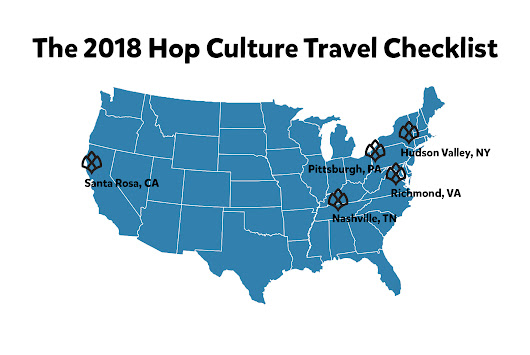 The Top 5 American Beer Cities We're Excited for in 2018 • Hop Culture