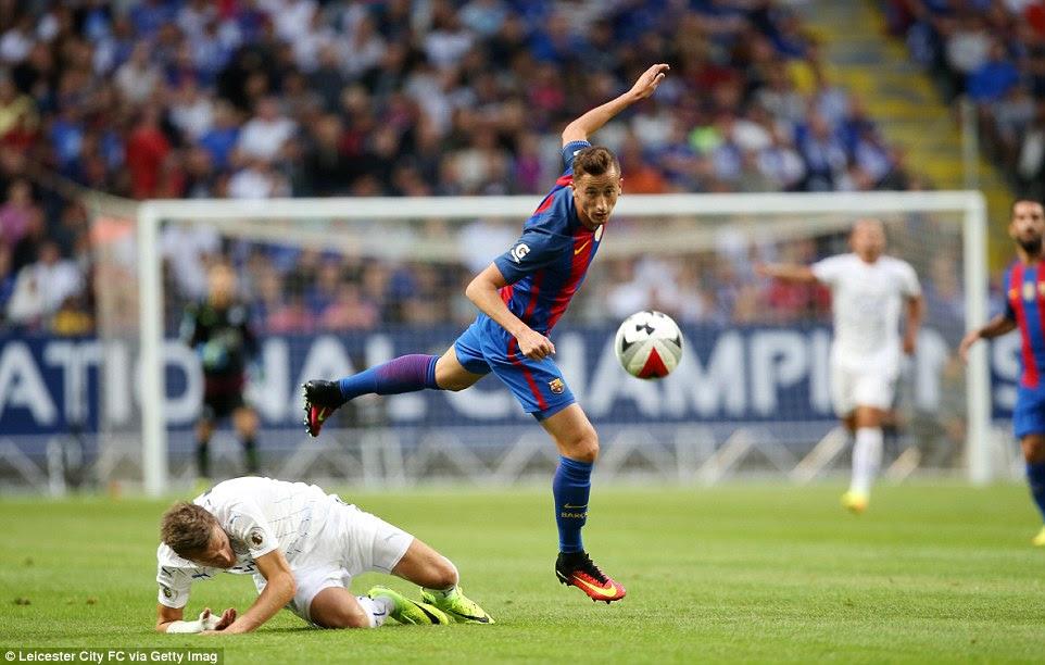 Blog de Juan Pardo: Barcelona 4-2 Leicester: Ahmed Musa ...