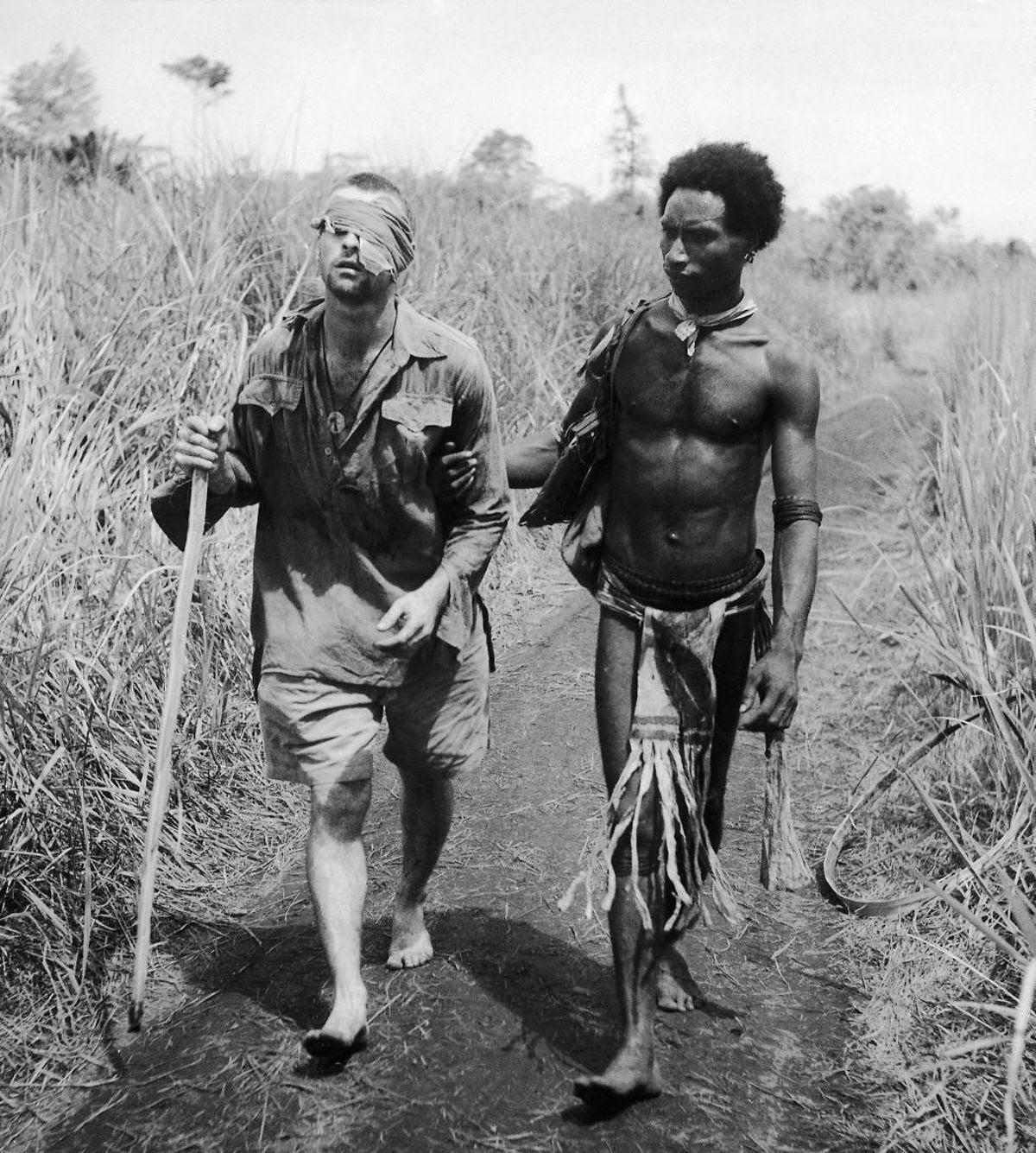Os povos indígenas de Papua Nova Guiné salvaram centenas de soldados feridos na Segunda Guerra Mundial 01