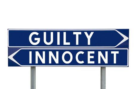 Bildresultat för skyldig eller oskyldig