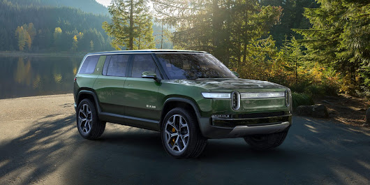 Rivian launches all-electric 7-seat SUV with over 410 miles of range