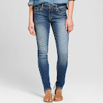 Women's Mid-Rise Skinny Jeans - Universal Thread Medium Wash